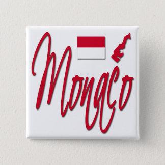 Monaco 15 Cm Square Badge