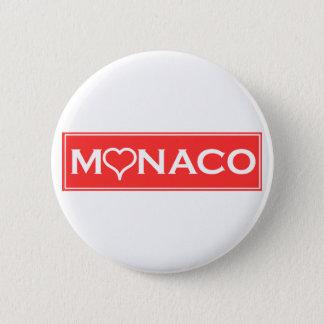 Monaco 6 Cm Round Badge