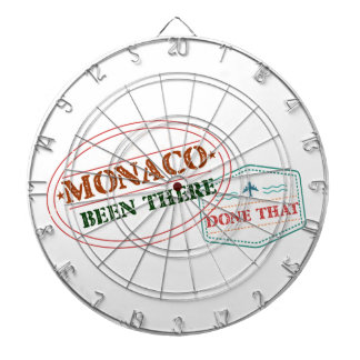 Monaco Been There Done That Dartboard