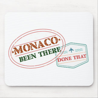 Monaco Been There Done That Mouse Pad