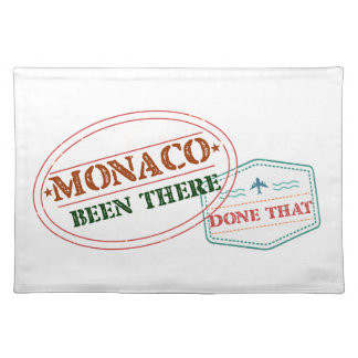 Monaco Been There Done That Placemat