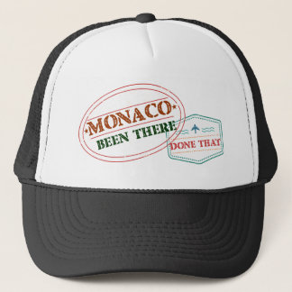 Monaco Been There Done That Trucker Hat