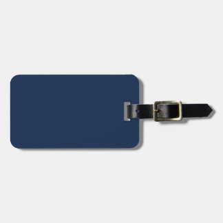 Monaco Blue Trend Color Dark Blue Customized Blank Luggage Tag