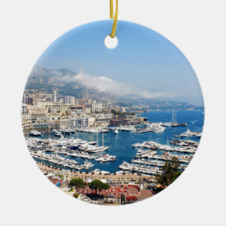 Monaco Ceramic Ornament