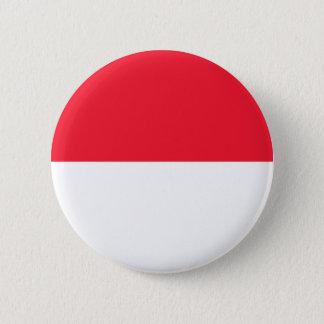 Monaco Flag 6 Cm Round Badge