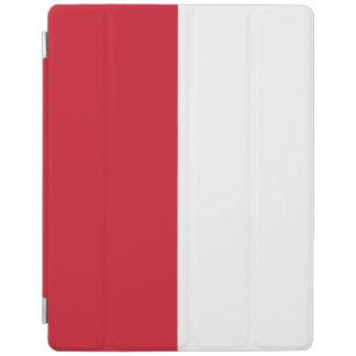 Monaco Flag iPad Cover
