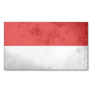 Monaco Flag Magnetic Business Cards