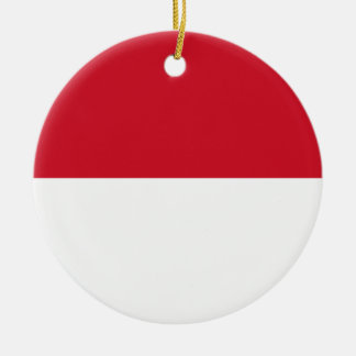 Monaco Flag Ornament