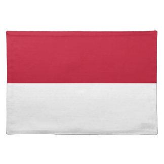 Monaco_flag Placemat