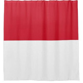 Monaco Flag Shower Curtain