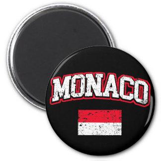 Monaco Flag vintage Magnet
