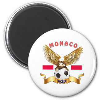 Monaco Football Designs Magnet