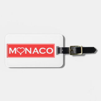 Monaco Luggage Tag