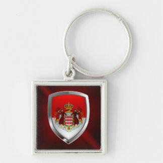 Monaco Metallic Emblem Key Ring