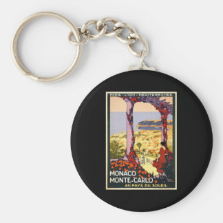 Monaco Monte Carlo Key Ring