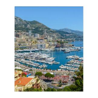 Monaco Monte Carlo Photograph Acrylic Print