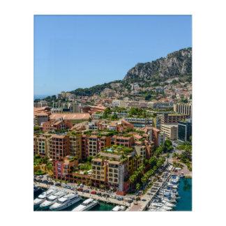Monaco Monte Carlo Photograph Acrylic Wall Art