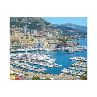 Monaco Monte Carlo Photograph Canvas Print