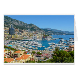 Monaco Monte Carlo Photograph Card