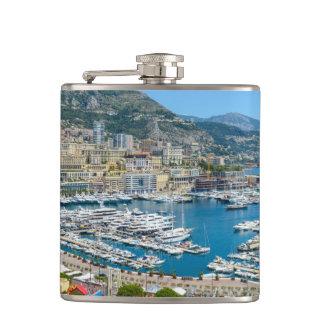 Monaco Monte Carlo Photograph Hip Flask