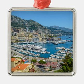 Monaco Monte Carlo Photograph Metal Ornament