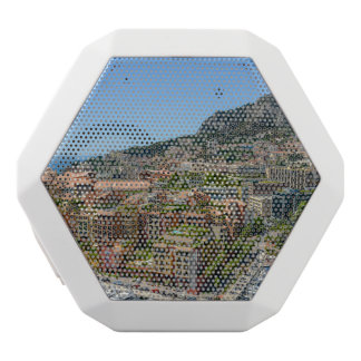 Monaco Monte Carlo Photograph White Bluetooth Speaker