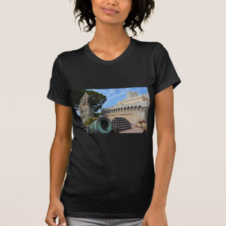 Monaco Palace - cannonballs and cannons T-Shirt