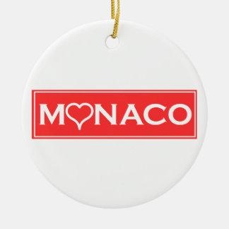 Monaco Round Ceramic Decoration