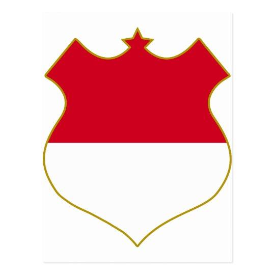 Monaco-shield.png Postcard