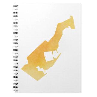 Monaco Spiral Notebook
