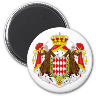 Monaco State Flag Magnet