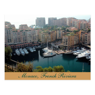Monaco Yachts, French Riviera Post Card