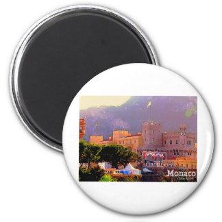 Monaco's Palace Magnet