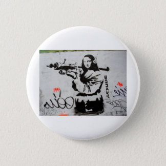 monaLisa 6 Cm Round Badge