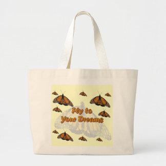 Monarch Butterflies Canvas Bags