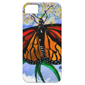 Monarch butterflies case for the iPhone 5