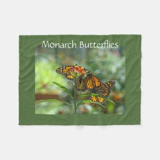Monarch Butterflies Designer Fleece blankets Fleece Blanket