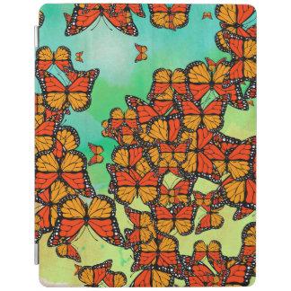 Monarch butterflies iPad cover