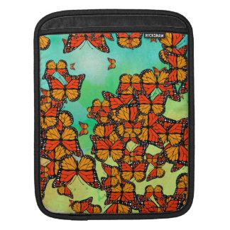 Monarch butterflies iPad sleeve