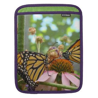 Monarch Butterflies iPAD sleeves Summer Gardens