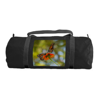 Monarch Butterflies on Wildflowers Gym Bag