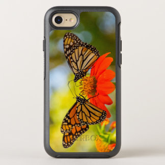 Monarch Butterflies on Wildflowers OtterBox Symmetry iPhone 8/7 Case
