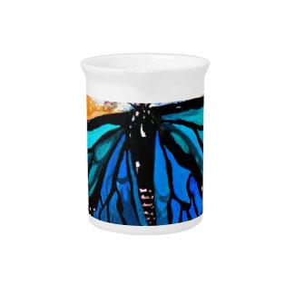 Monarch Butterflies Pitcher