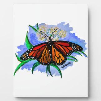 Monarch butterflies plaque