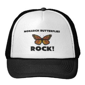 Monarch Butterflies Rock Trucker Hats
