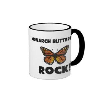 Monarch Butterflies Rock Coffee Mug
