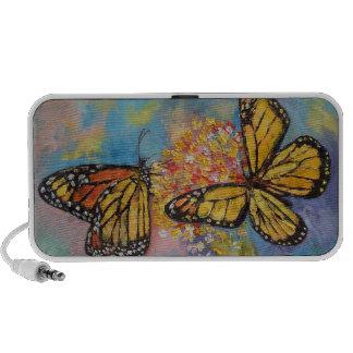 Monarch Butterflies Notebook Speakers