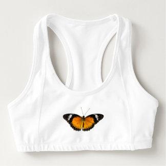 Monarch Butterflies Sports Bra