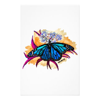 Monarch Butterflies Stationery