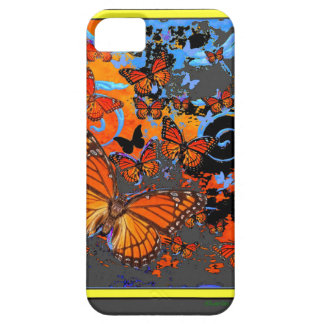 Monarch Butterflies Stormy Weather Art Barely There iPhone 5 Case